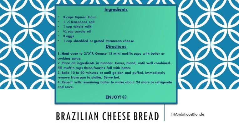 Brazillian Cheese Bread