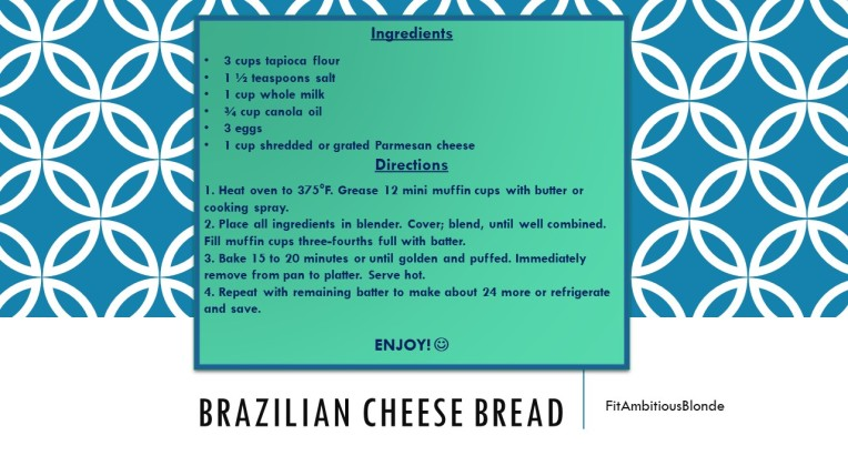Brazillian Cheese Bread