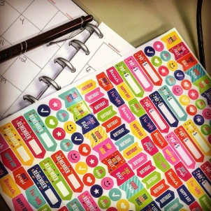 Happy PLanner for Dialy Gratitude!